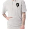 Short Sleeve Hoodie Front