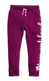Purple Jogger Pants