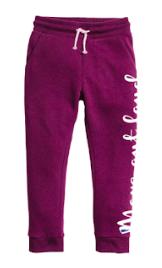 Purple Jogger Pants
